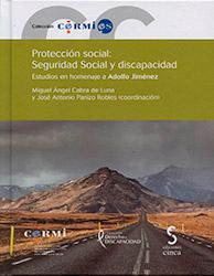 Portada del libro: Protección social: Seguridad social y discapacidad